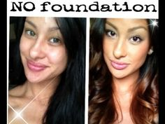 I love Melisa's videos. This one is great because she shows how she is now wearing her make up. NO foundation!