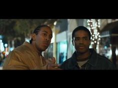 """In this scene from the movie """"Crash,""""  Ludacris' character is upset because he feels everyone is stereotyping him as they walk through a predominantly white city. When Sandra Bullock's character holds on tighter to her husband when she sees the two black men, thinking they were trouble, she proved him right. But her fear has been fueled by the mass media's tendency to show black men as criminals. http://newsinfo.iu.edu/news/page/normal/1580.html"""
