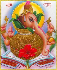 Shri Ganesh Images, Ganesha Pictures, Jalaram Bapa Photo, Om Namah Shivay, Lord Ganesha, Lord Shiva, Shiva Wallpaper, Shiva Art, Ganesha Painting