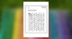 Pracovný list z matematiky, v ktorom si prváci precvičia sčítavanie čísel. Úlohou je nájsť 10 dvojích susediacich čísel, ktorých súčet je 18.