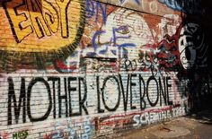 Mother Love Bone graffiti, Seattle