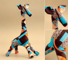 giraffe sewing project