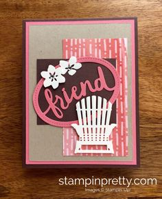 ORDER STAMPIN' UP! ON-LINE! Video shows how to use the Lovely Words Thinlits Dies. Clearance. Exclusive offers. Retiring product discounts!