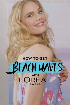 Want to get beach waves in time for summer? It's simple with our Undone Style Cream and Wave Swept Spray from our new AIR DRY IT Collection! See the full step-by-step tutorial here.