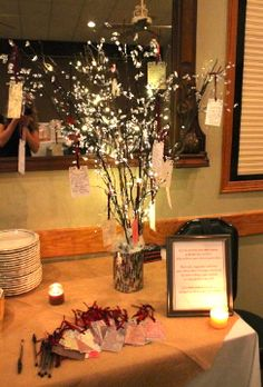 Gift card tree like these branches gifts pinterest trees we could do something like this for the small amount gift card tree negle Choice Image