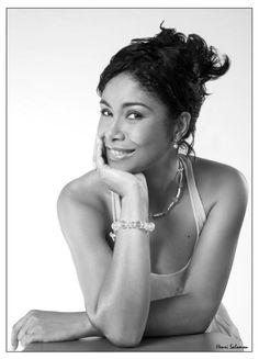 Tanya Saint-Val - chanteuse.  From Guadeloupe.