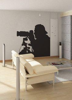 Photographer  uBer Decals Wall Decal Vinyl Decor Art by uBerDecals