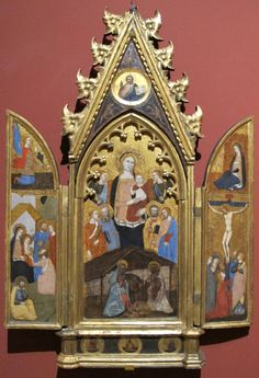 http://upload.wikimedia.org/wikipedia/commons/3/36/Andrea_bonaiuti%2C_madonna_col_bambino_angeli_e_santi.JPG Рождество с донорами.