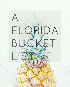 A Florida Bucket List -- We Took the Road Less Traveled blog #floridatravel