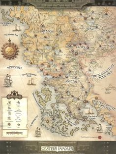 A high resolution map of the Iron Kingdoms Sci Fi Wallpaper, Cartographers Guild, Fantasy World Map, Imaginary Maps, Rpg Map, Fantasy Castle, Fantasy Inspiration, Writing Inspiration, Fantasy Setting