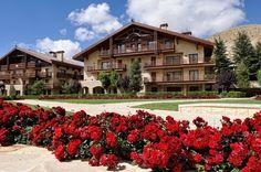 LEBANON, FARAYA HOTEL WITH ROSES
