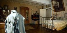 La chambre de Hubert Rochereau, restée intacte depuis sa mort au Front en 1918
