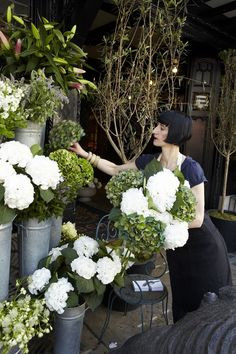 Got a fashion 'thank-you' to say? Say it with Wild at Heart blooms, fresh from our flower entrance    Found on liberty.co.uk