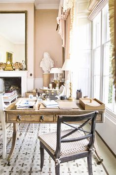 {décor inspiration | at home with : india hicks, the grove, oxfordshire}