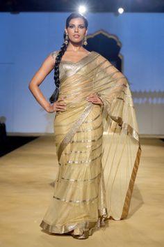 Fashion designer Ashima and Leena Collection at India Bridal Fashion week 2013.