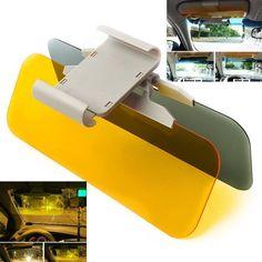 HD Day Night Car Sun Driving Mirror Visor Flip Down Anti-Glare Shield Block View | eBay