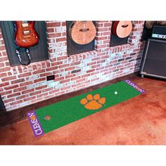 Clemson Tigers NCAA Putting Green Runner (18x72)