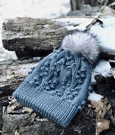 Ravelry: Middlebury Hat pattern by Aubrey Baumgartner Knitting Stiches, Baby Hats Knitting, Loom Knitting, Knitting Kits, Knit Hats, Creative Knitting, Knitted Headband, Knitted Bags, Knit Or Crochet