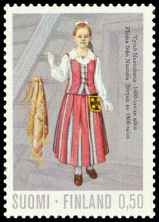 Stamp: Girls Costume from Nastola Century) (Finland) (National costumes) Mi:FI 711 Folk Costume, Girl Costumes, Postage Stamp Collection, Stamp Collecting, Traditional Outfits, Postage Stamps, Fine Art America, Female, History