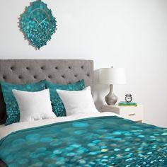 Lisa Argyropoulos Aquios Duvet Cover | DENY Designs Home Accessories