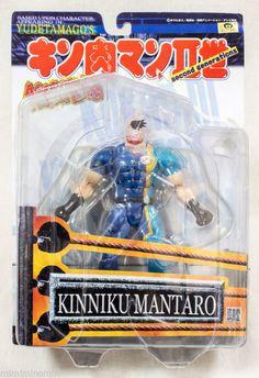 KINNIKU MANTARO KINNIKUMAN 2nd Generations Romando PVC Action Figure JAPAN ANIME