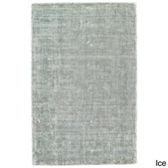 "Grand Bazaar Hand Woven Viscose & Sarma Rug in Ice 3'-6"" x 5'-6"""