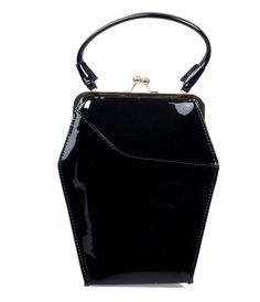 A bewitching #1940s inspired purse crafted from patent leather in a subtle sparkle! #uniquevintage