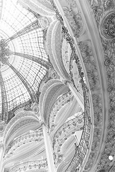 black and white patterns in paris