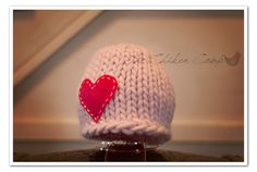 Newborn Knit Beanie by TheChikenCoop on Etsy, $28.00