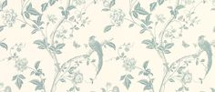 Summer Palace Off White/Duck Egg Blue Floral Wallpaper at Laura Ashley Duck Egg Blue Floral Wallpaper, Blue And White Wallpaper, Cream Wallpaper, Brown Wallpaper, Bedroom Wallpaper, Shabby Chic Guest Room, Duck Egg Blue Bedroom, Wallpaper Gallery, Wallpaper Ideas