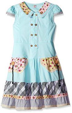 Sunny Fashion Big Girls Cute Colorful Collar Back School, Blue, 7-8 Sunny Fashion http://www.amazon.com/dp/B00N8CBFK6/ref=cm_sw_r_pi_dp_fWm6wb0F3PTX4