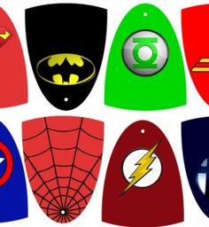 Descargables E Imprimibles Superhéroes   Fiestas infantiles y cumpleaños de niños