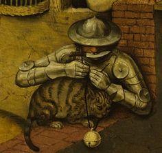 """""""Ponerle cascabel al gato"""" Ardua y difícil labor."""