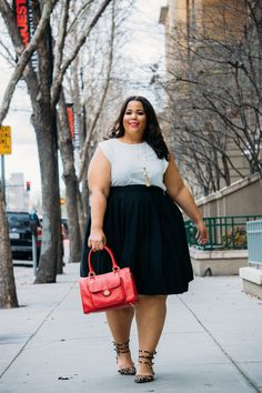 GarnerStyle | The Curvy Girl Guide: Budget Find: Get My Top & Skirt Combo Under $40