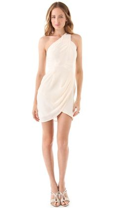 Zimmermann One Shoulder Dress--just sexy enough that you can wear whenever!
