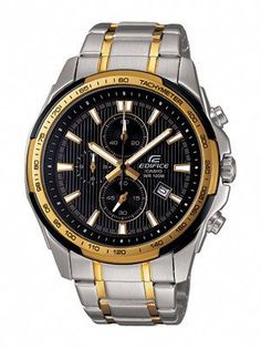 THE SUPPLY SHOPPE - Product - CW158 EDIFICE BLACK AND GOLD  (EF-566SG-1AVDF). Supplyshoppe - Online Shopping · CASIO EDIFICE WATCHES ff62b574fb