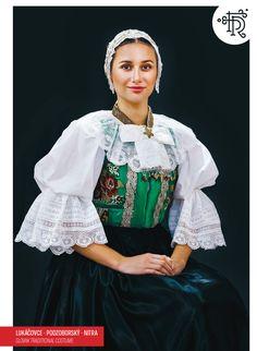 Lukačovce, Ponitrie, Slovakia Tribal Dress, Wedding Costumes, Folk Embroidery, Folk Costume, Festival Wear, Traditional Dresses, Dance Wear, Cute Kids, Bell Sleeve Top