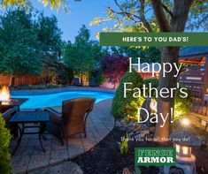 Happy Father's Day to YOU!  We hope today is full of relaxing and enjoying the ☀️ with family.  Don't forget to take advantage of our Father's Day Sale.  #fencearmor #fathersday #sale #fenceprotector #fathersdaysale #giftsfordad #fathersdaygifts #whattogetfordad #diy #doityourself #fenceprotector #woodprotection #lawnmaintenance #backyardmaintenance #curbappeal #backyardupgrade #deckprotector #yardwork #preventweedtrimmerdamage #weedtrimmerdamage #fenceprotection #postprotection #postsaver Fathers Day Sale, Happy Fathers Day, Fathers Day Gifts, Gifts For Dad, Mailbox Landscaping, Landscape Structure, Lawn Maintenance, Flag Stand, Lawn Care