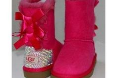 Neon pink uggs - Shoes Picture