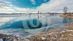 winter-landscape-frozen-lake-blue-sky-yellowing-reeds-cool-mood Winter Landscape, Nature Photos, Frozen, Sky, Mood, Blue, Heaven, Heavens, Frozen Movie
