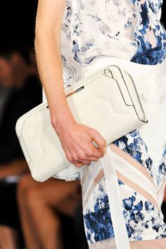 Structured Clutch. BCBG Max Azria Spring 2014 Ready-to-wear collection.