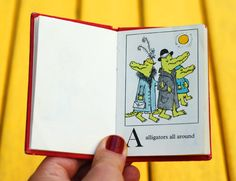 Alligators All Around: A Maurice Sendak Alphabet Book from 1962 | Brain Pickings