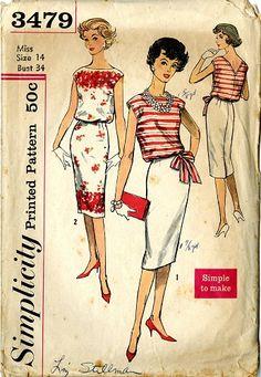 5b94604d Vintage Pattern Warehouse, vintage sewing patterns, vintage fashion,  crafts, fashion