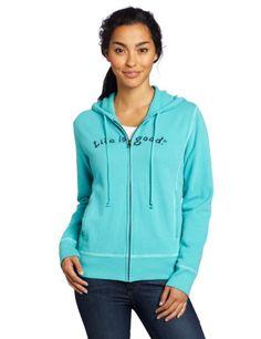 Life is Good Women`s Softwash Zippity Hoodie $46.50