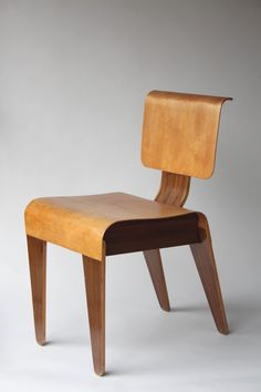 MARCEL BREUER, Stacking Chair, for Isokon, 1936. Sold by Abelsloane 1934