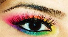 .Rainbow eyes