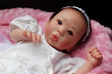 *STUNNINGLY GORGEOUS!* Reborn Asian Baby Doll Eleanor Anne! NEW SCULPT! MR HAIR