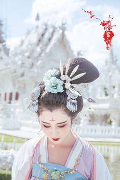 Beautiful chinese hairstyle || My Han Chinese Costume 7