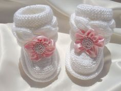 Baby Shoes P A T T E R N Knitting Baby Booties Baby by Solnishko43