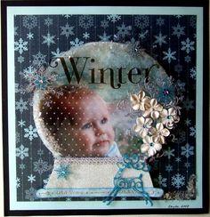 winter in a snow globe................pic retaken - Scrapbook.com